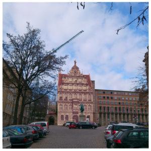 Pellerhaus Nürnberg. Wandbilder, Ansichts- u. Klappkarten
