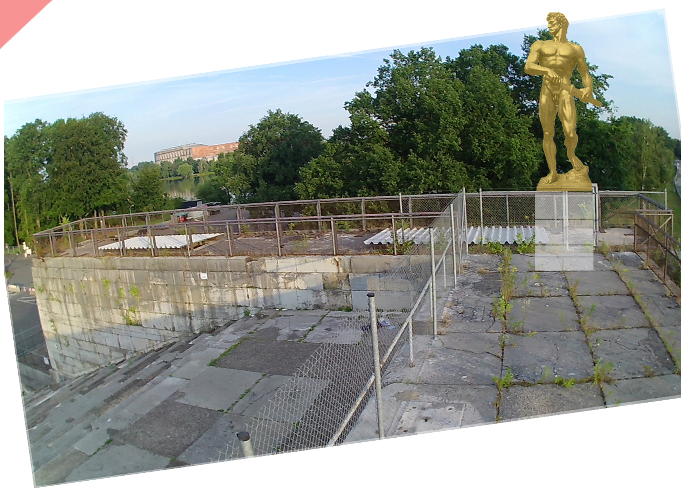 Zeppelin-field-grandstand-planned-figurine-Arno-Breker-1939-Readieness