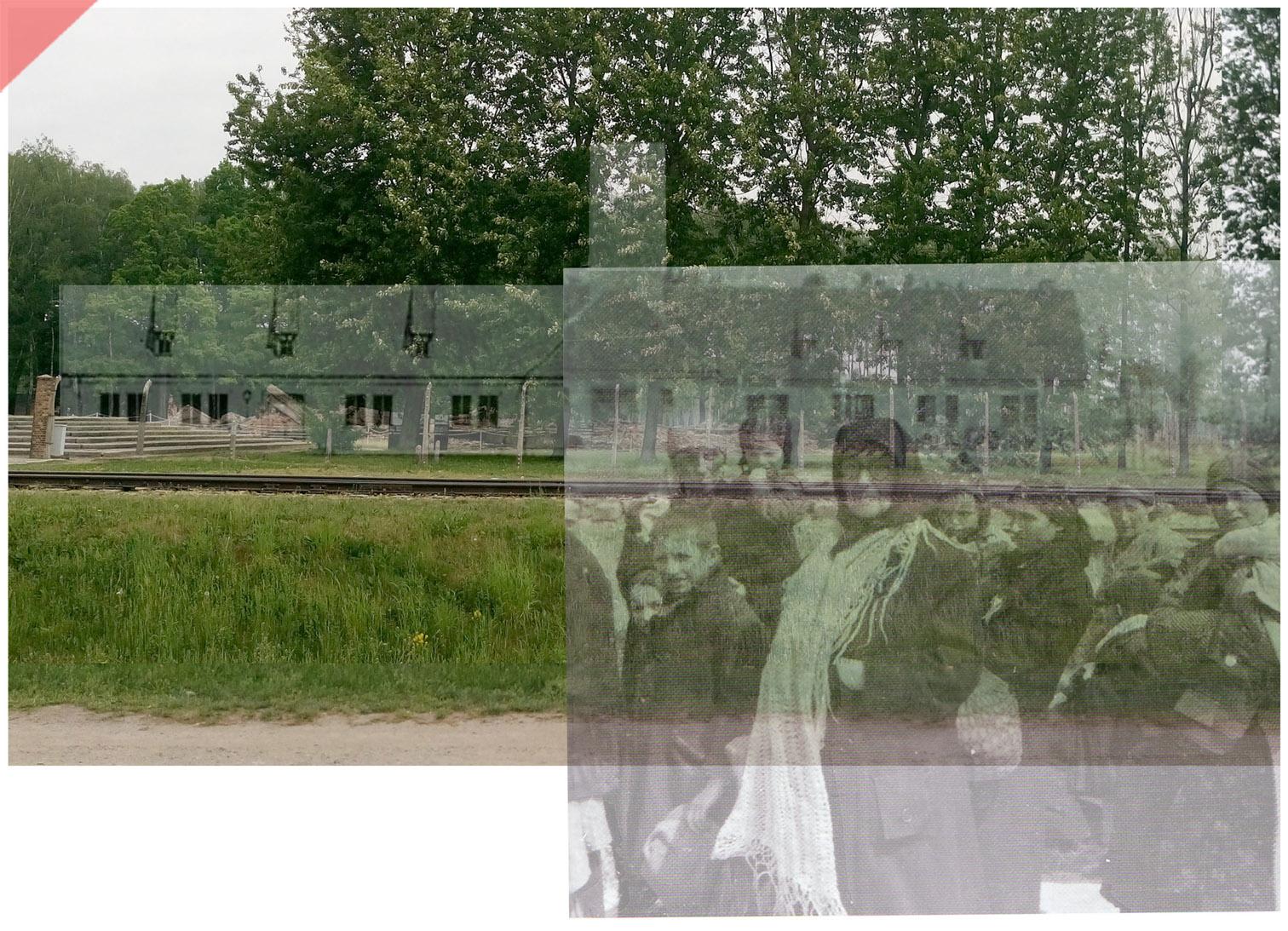 Auschwitz-Birkenau-Krematorium-3-III-superimpose-now-then-1943-1944-Photo