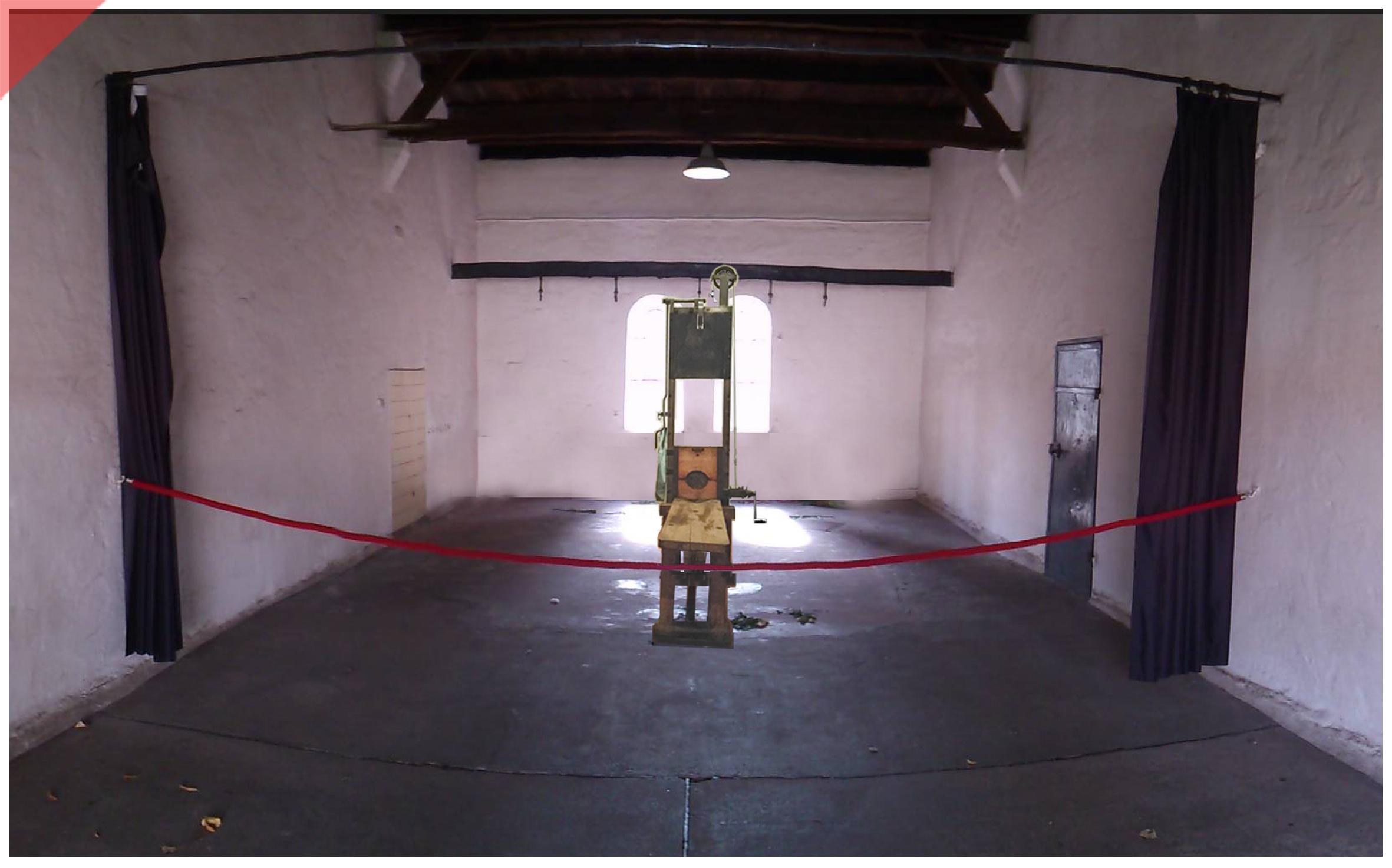 Plötzensee-Ploetzensee-Prison-Gefängnis-Gedenkstätte-Fallbeil-T-Mannhardt-in-color-Brandenburg-Goerden-Görden-Guillotine-Roettger-20th-July-1944-Assassination-Stauffenberg