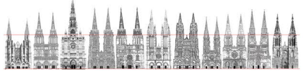 Kathedralen-Frankreich-französische-10-Fassaden-Rekonstruktion-geplant-gebaut-Damals-Jetzt