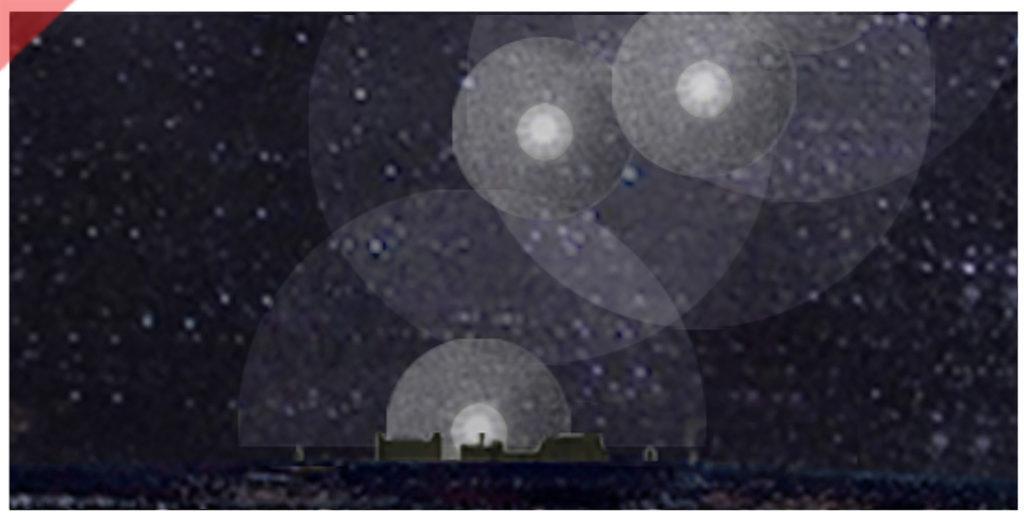 2nd-january-1945-75th-year-anniversary-destruction-nuremberg-old-town-raf-pathfinder-light-bombs-magnesium-christmas-trees-aerial-bombing-firestorm-image-Luftangriff-2.-Januar-1945-75.-Jahrestag-Zerstörung-Nürnberg-Altstadt-raf-royal-air-force-pathfinder-bildmotiv-Christbäume