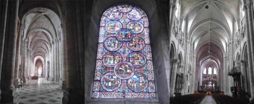 Sens-Kathedrale-Ansicht-innen-geplant-gebaut-Damals-Jetzt