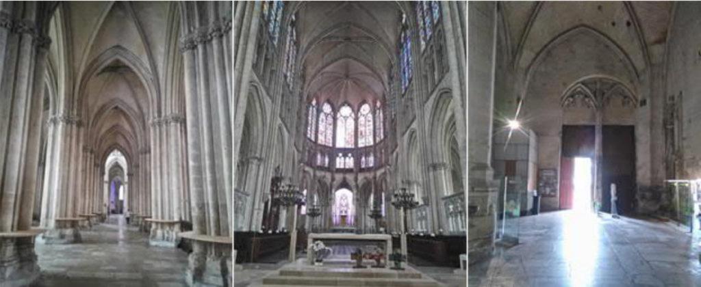 Troyes-Kathedrale-Ansicht-innen-geplant-gebaut-Damals-Jetzt